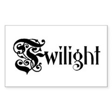 Twilight 1 Rectangle Decal