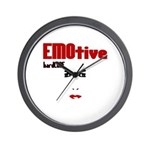 EMOtive hardCORE Wall Clock