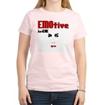 EMOtive hardCORE Women's Pink T-Shirt