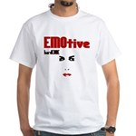 EMOtive hardCORE White T-Shirt