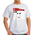 EMOtive hardCORE Ash Grey T-Shirt
