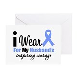 Prostate Cancer HUSBAND Greeting Cards (Pk of 10)