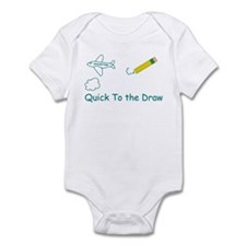 Quick To the Draw Infant Bodysuit