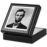 Abraham Lincoln Portrait Keepsake Box