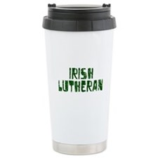 Irish Lutheran Ceramic Travel Mug