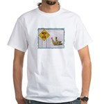 Watch for Ice White T-Shirt
