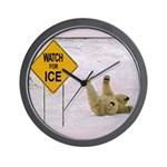 Watch for Ice Wall Clock