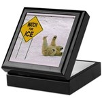 Watch for Ice Keepsake Box