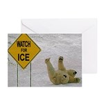 Watch for Ice Greeting Cards (Pk of 20)