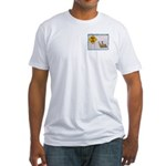 Watch for Ice Fitted T-Shirt