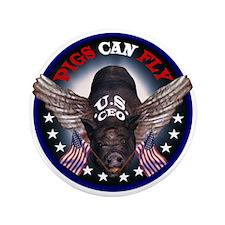"U.S. C.E.0. AIR 3.5"" Button (100 pack)"