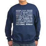 Rational Human Sweatshirt (dark)