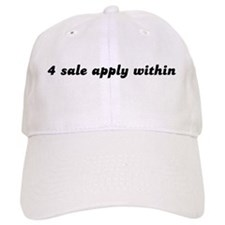 4 sale apply within Baseball Cap