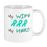 Hero Wife Teal Mug