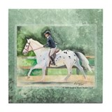The Appaloosa Sporthorse Tile Coaster