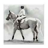 2008 Upperville Grand Prix Rider Tile Coaster