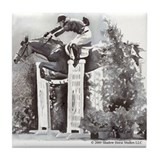 Upperville Grand Prix Jumper Tile Coaster