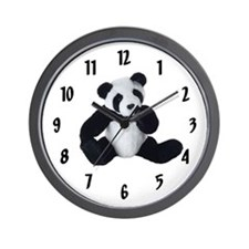 PANDA KIDS Wall Clock /10 inch