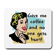 Coffee Freak Mousepad