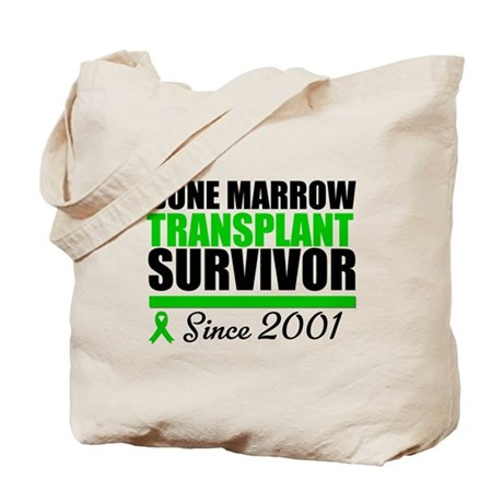 BMT Survivor Since '01 Tote Bag