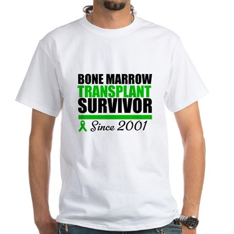 BMT Survivor Since '01 White T-Shirt