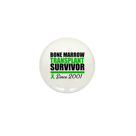 BMT Survivor Since '01 Mini Button (10 pack)