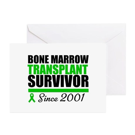 BMT Survivor Since '01 Greeting Cards (Pk of 10)