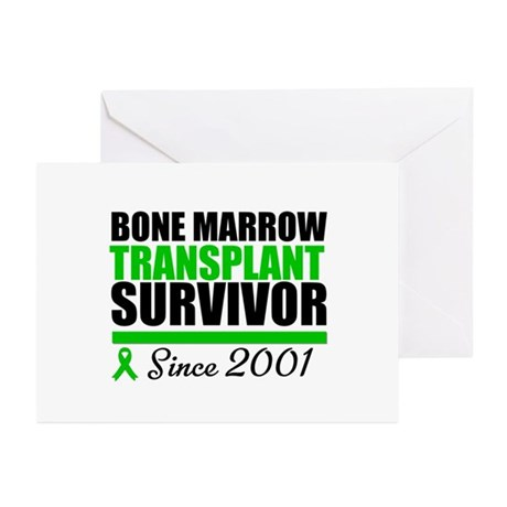 BMT Survivor Since '01 Greeting Cards (Pk of 20)