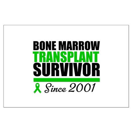 BMT Survivor Since '01 Large Poster