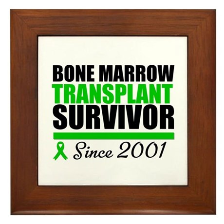 BMT Survivor Since '01 Framed Tile