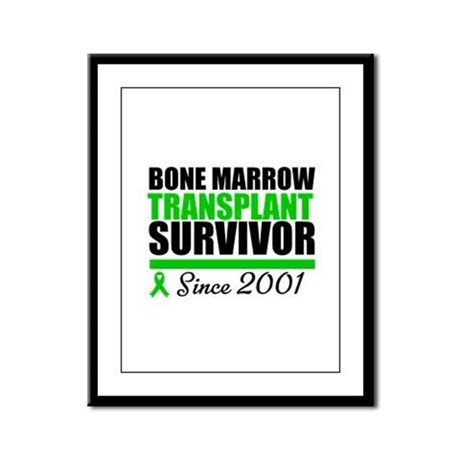 BMT Survivor Since '01 Framed Panel Print