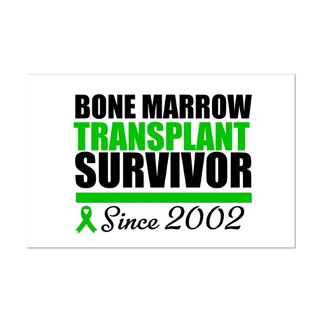 BMT Survivor Since '02 Mini Poster Print
