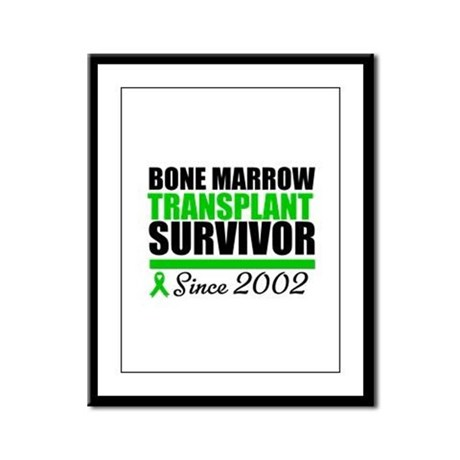 BMT Survivor Since '02 Framed Panel Print