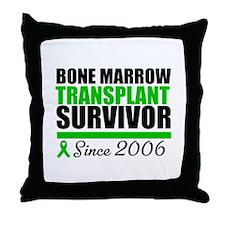 BMT Survivor Since '06 Throw Pillow