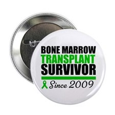"BMT Survivor Since '09 2.25"" Button"