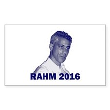 Rahm Emanuel: RAHM 2016 - Rectangle Decal