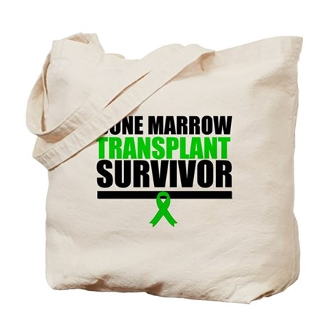 BoneMarrowTransplantSurvivor Tote Bag