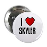 I LOVE SKYLER Button