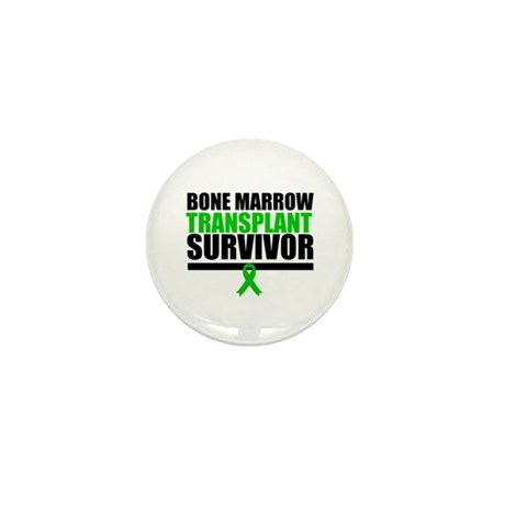 BoneMarrowTransplantSurvivor Mini Button (10 pack)