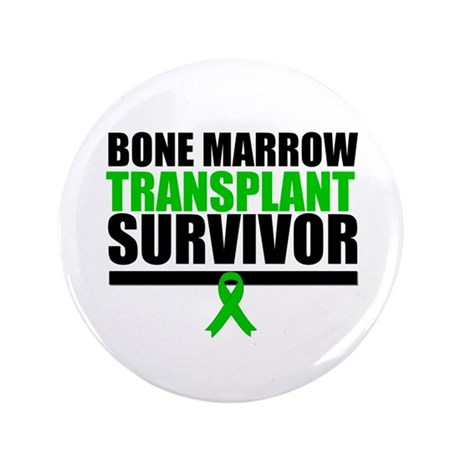 "BoneMarrowTransplantSurvivor 3.5"" Button (100 pack"