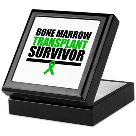 BoneMarrowTransplantSurvivor Keepsake Box