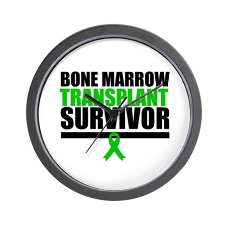 BoneMarrowTransplantSurvivor Wall Clock
