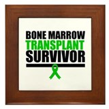 BoneMarrowTransplantSurvivor Framed Tile