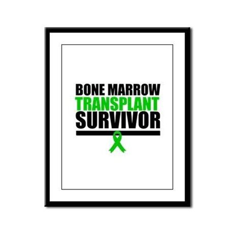 BoneMarrowTransplantSurvivor Framed Panel Print