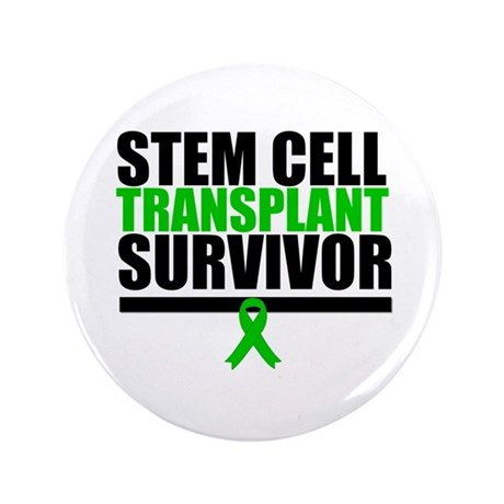 "Stem Cell Transplant 3.5"" Button"