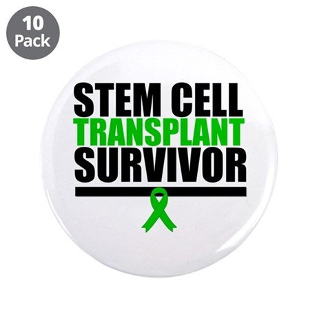 "Stem Cell Transplant 3.5"" Button (10 pack)"