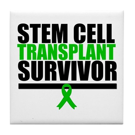 Stem Cell Transplant Tile Coaster