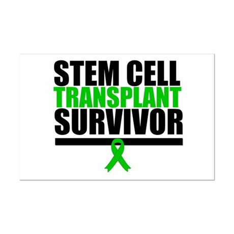 Stem Cell Transplant Mini Poster Print