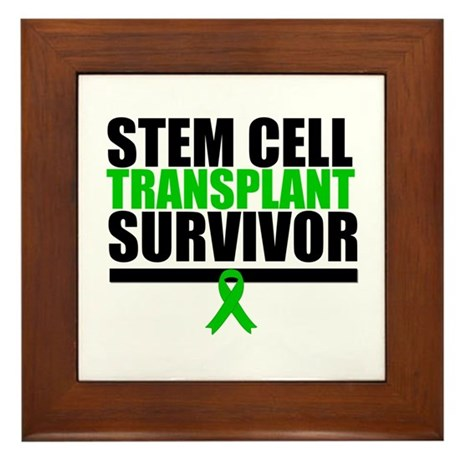 Stem Cell Transplant Framed Tile