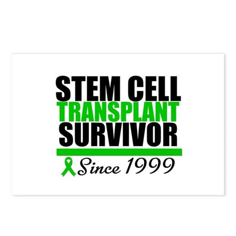 SCT Survivor Green Ribbon Postcards (Package of 8)